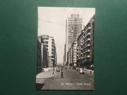 Cartolina Milano - Viale Tunisia - 1957 - Milano