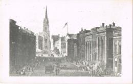 34044. Postal TRINITY CHURCH (Wall Street) New York City (NY) - Wall Street