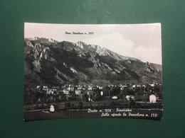 Cartolina Bratto - Panorama - Sullo Sfondo La Presolana - 1959 - Bergamo