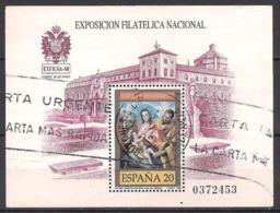 Spanien (1989)  Mi.Nr.  Block 34  Gest. / Used  (2bl-05.5) - 1931-Heute: 2. Rep. - ... Juan Carlos I