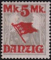 Danzig     .    Michel    .    30  II     .       **    .      Postfrisch      .   /   .    MNH - Dantzig