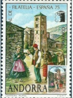 ANDORRA. Le Facteur Andorran En 1928. (el Cartero)  Carte-maximum. Photos Recto-verso - Jobs