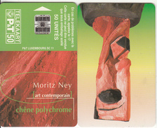 LUXEMBOURG(chip) - Art Contemporain 8/Moritz Ney(SC 11), Matt Surface(reverse Inverted), Tirage 30000, Used - Luxemburg