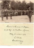 Souvenir De La Remise Du Drapeau Du 18° Régt De Tirailleurs Algériens - METZ Le 31 Aout 1922   (116990) - Regiments