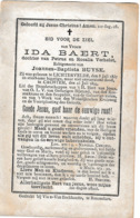 Lichtervelde, Kachtem, Cachtem, 1894, Ida Baert, Buyse - Images Religieuses