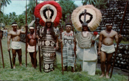 !  Modern Postcard Tahiti Costumes - Tahiti