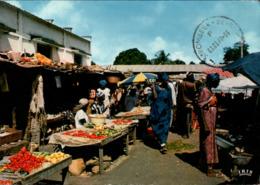 !  Modern Postcard 1982 Senegal, Marche, Africa, Afrika - Senegal