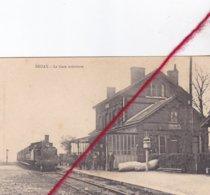 CP 62 -  BRUAY EN ARTOIS  - La Gare Intérieure - Francia
