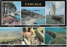 35 - CANCALE - Cancale - Multi Vues - 6 Vues - Coquillages - Cpm -écrite - - Pescados Y Crustáceos