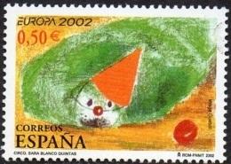 CEPT / Europa 2002 Espagne N° 3461 ** Le Cirque - 2002