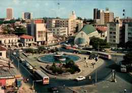 !  Modern Postcard Lagos, Tinubu Square, Nigeria, Church, Eglise - Nigeria