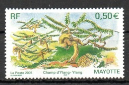MAYOTTE. N°170 De 2005. Ylang-ylang - Medicinal Plants