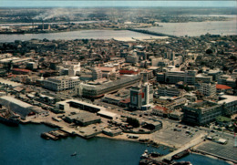 !  Modern Postcard Lagos, Marina, Harbour, Port, Hafen, Nigeria - Nigeria