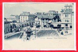 SUISSE --  MONTREUX - Place Trait - Planches - VD Vaud