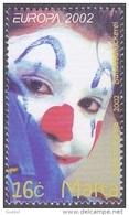 CEPT / Europa 2002 Malte N° 1186  ** Le Cirque - 2002
