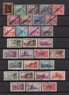 Saargebiet - 1922/29 - Dienstmarken - Sammlung - Gest. - 1920-35 Saargebiet – Abstimmungsgebiet