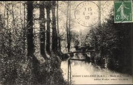 Cp Boissy L'Aillerie Val D'Oise, Bords De La Viosne - Sonstige Gemeinden