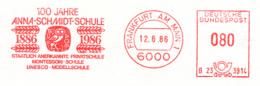 Freistempel 8751 Eule Anna Schmidt Schule Montessori Schule Unesco - [7] Federal Republic