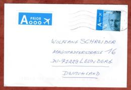 Brief, Koenig Philippe, De Haan Nach Leonberg 2018 (80063) - Belgium