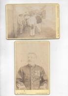 2 Photos De Militaire Années 1880 à Haiphong - Militaria