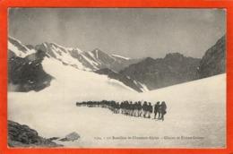 CPA - D74 - ANNECY - (Hte-Savoie) - Oblitéré 1909 -  11è  Bataillon De Chasseurs Alpins - Glacier De Rhéne Golette - No - Annecy