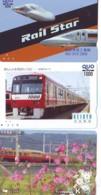 3 Carte Prépayée JAPON Différentes * CHEMIN DE FER (LOT TRAIN A-19) JAPAN * 3 TRAIN DIFFERENT PHONECARDS - Treni