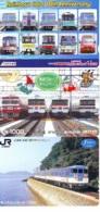3 Carte Prépayée JAPON Différentes * CHEMIN DE FER (LOT TRAIN A-22) JAPAN * 3 TRAIN DIFFERENT PHONECARDS - Eisenbahnen
