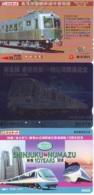 3 Carte Prépayée JAPON Différentes * CHEMIN DE FER (LOT TRAIN A-23) JAPAN * 3 TRAIN DIFFERENT PHONECARDS - Trains