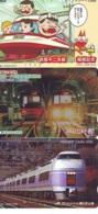 3 Carte Prépayée JAPON Différentes * CHEMIN DE FER (LOT TRAIN A-59) JAPAN * 3 TRAIN DIFFERENT PHONECARDS - Treni