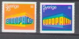 Sweden 1969; Europa Cept, Michel 634-635.** (MNH) - Europa-CEPT