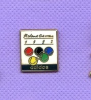 Pins Tennis Roland Garros 1992 Adidas Arthus Bertrand K152 - Arthus Bertrand