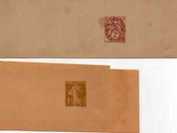 Lot De 19 Entiers Postaux ( 4 BJ Et 15 CP) Voir Les Scans Et Description - Biglietto Postale