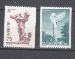 Sweden 1974; Europa Cept, Michel 852-853.** (MNH) - 1974