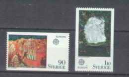 Sweden 1975; Europa Cept, Michel 899-900.** (MNH) - Europa-CEPT
