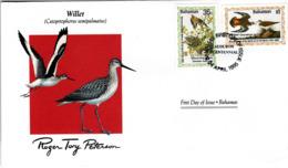 FDC  BAHAMAS  Birds  /  Oiseaux,  Lettre De Première Jour,  CATOPTROPHORUS SEMIPALMATUS - Vögel