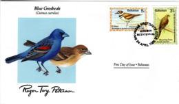 FDC  BAHAMAS  Birds  /  Oiseaux,  Lettre De Première Jour,  GUIRACA CAERULEA - Vögel