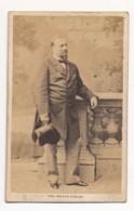 Photographie Ancienne XIXe CDV C. 1860 Portrait Du Ténor Opéra Enrico TAMBERLICK Photographe Mayer Et Pierson Paris - Photographs
