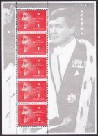 Netherlands Holland Nederland 2013 Mnh Sheet Blok Vel Kroning Coronation King Koning Roi Willem Alexander - Blocks & Sheetlets