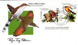 FDC  CENTRAL AFRICA  Birds  /  Oiseaux,  Lettre De Première Jour, CENTRAFRICAINE    COCCYZUS AMERICANUS - Vögel
