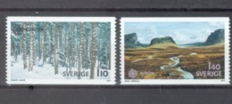 Sweden 1977; Europa Cept, Michel 989-990.** (MNH) - Europa-CEPT