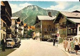 Postkarte Deutschland. Tegernsee - Hauptstrasse. Autos Menchen Kleider. Hotel Gu...?. 0147171010 - Tegernsee