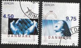 2001 Dänemark Danmark Mi. 1277-8 Used - 2001