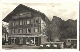 Alte Postkarte. Oberammergau - Hans Jakob Burger. Photo H. Rex. Cafe Eden.  0220180310 - Oberammergau