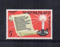 ISOLA NORFOLK - 1967 - Natale -  Nuovo - Linguellato * - (FDC17220) - Isola Norfolk