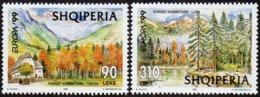 CEPT / Europa 1999 Albanie N° 2445 - 2647 ** Réserves Et Parcs Naturels - Europa-CEPT