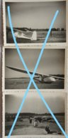 Photo SPA 1947 VOL A VOILE Planeur Castel 800 Planneur Aérodrome Champs D'aviation Vliegtuig 00-EAC Plane - Luftfahrt