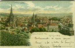 AK GERMANY - ESSLINGER A/N - LITH. C. RUBSAMEN - 1900s (BG4163) - Eislingen
