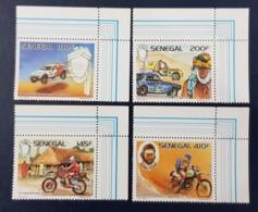 SENEGAL 1988 CORNER - 10 EME 10TH RALLYE RALLY DAKAR - MNH - Sénégal (1960-...)