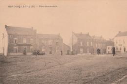 Montigny-le-Tilleul.  Place Communale.  Scan - Montigny-le-Tilleul