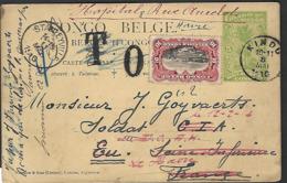 1916 Congo  Carte Postale Kindu Stanleyville Goyvaerts   ( Klass Heuroud ) - Enteros Postales